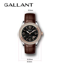 Roman numberal dail alloy watches luxury wristwatches leather strap mens watches