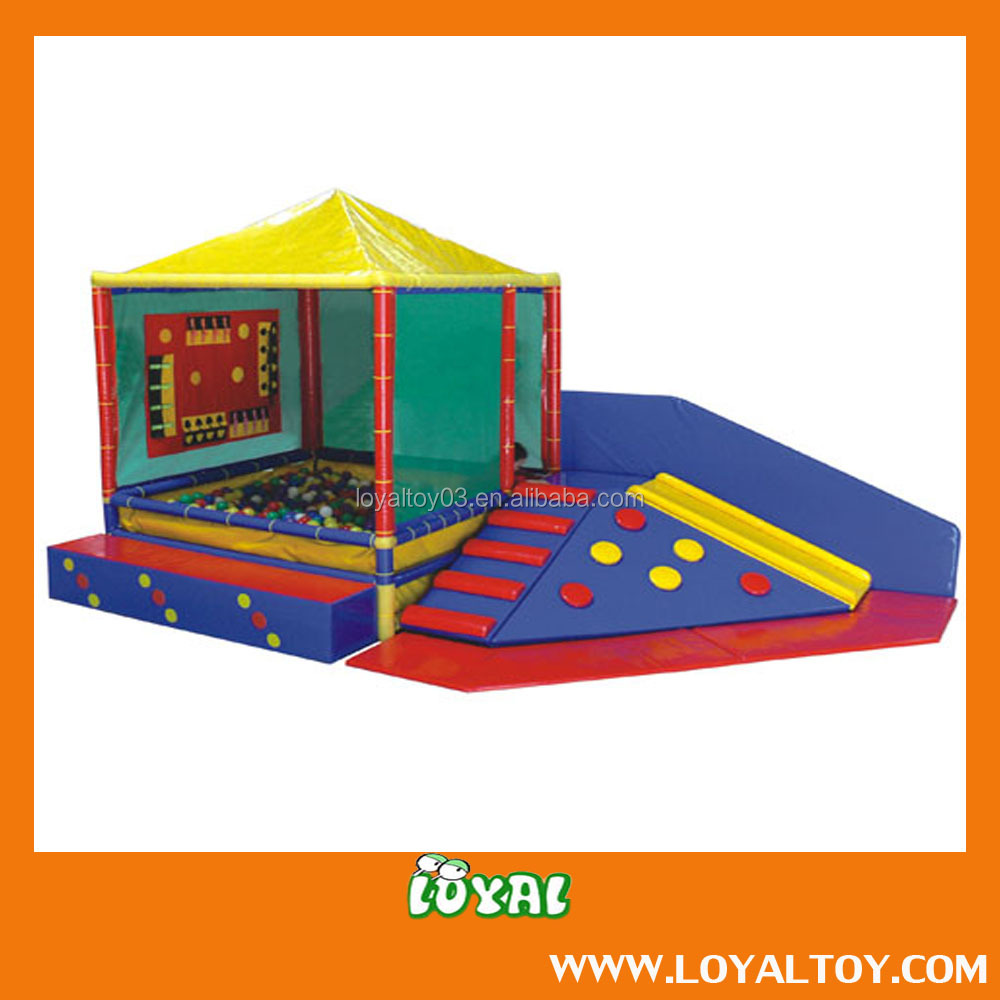 2016 NEW STYLE Soft Play Game,Ball pool,Indoor Toddler game Hot Sale with Favourite Cost