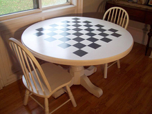 Fashion Round Dining Tea Table And Chairs Set