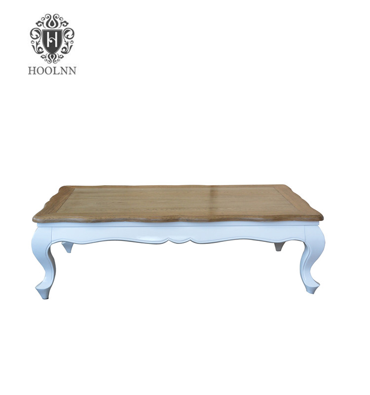 HL310-1-WN Living Room Furniture Design French Style Wooden Tea Table