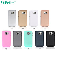 2 in 1 shockproof case,armor soft case cover for Samsung Galaxy S6 Edge