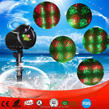 Outdoor Garden Decoration Waterproof Elf Christmas lights Star laser Projector Showers Lantern Flashlight Stage Light