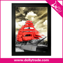 sailing boat and sea scenery art paintings on canvas