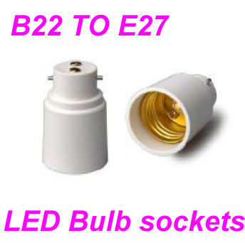 Lamp Holder Converters bulb adaptor B22 To E27 candelabra led bulb socket adapters