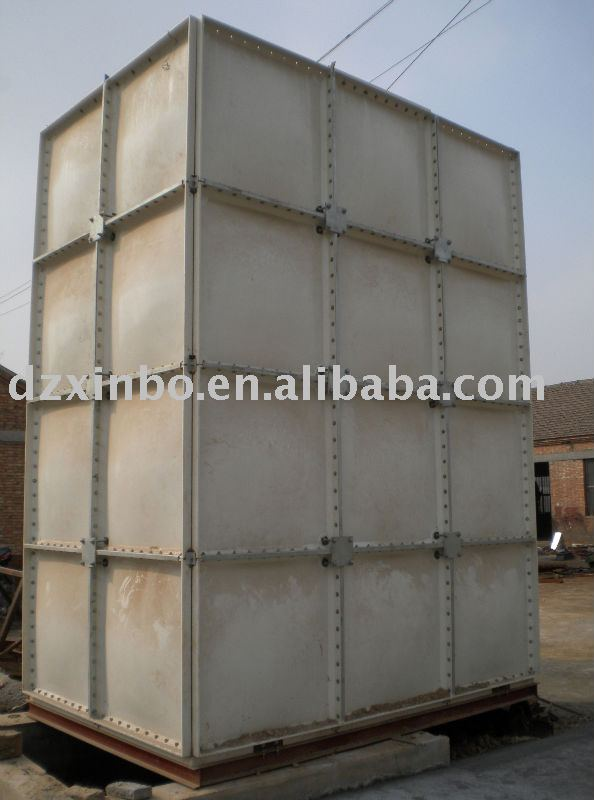 FRP Water Tank/GRP water tank forwater storage 1220*1220m Panels Sectional Factory Price 10000 gallon