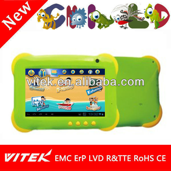Dual Core Kids Tab 7 inch Educational Kids Study Tablet