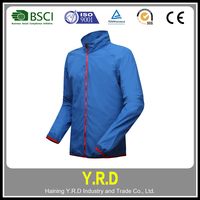Custom sportswear safety cycling clothing , safety jacket