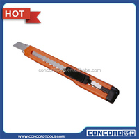 Plastic Snap Off Cutter Knife With Plastic Handle Sk5 blade cutter knife
