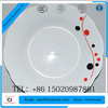 Personalized high quality light weight new bone china plate