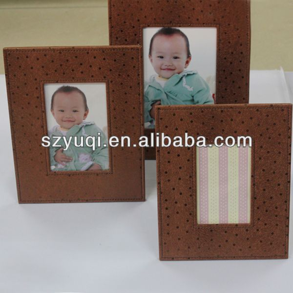 stylish and handmade fashion nude children funny photo frame