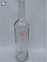 glass bottles vodka 700ml