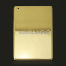 For ipad mini 3 housing back cover,gold back plate for ipad mini 3 (3g WIFI ),for ipad mini3 24ct gold housing