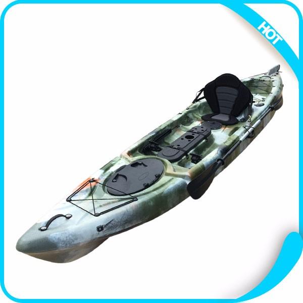 Cheap china plastic canoe fishing kayak with kayak for Best cheap fishing kayak