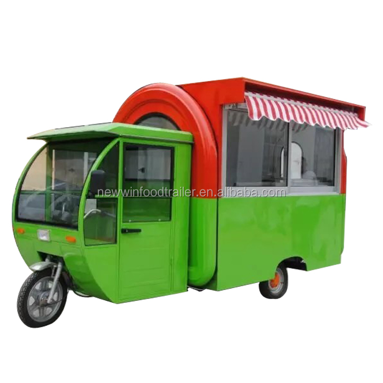 Best sales electric tricycle food cart truck trailer
