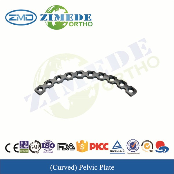 Curved Pelvic Plate steel plate handling tools pelvic plate pelvic fracture first aid equipment