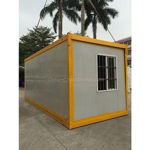 Cheap prefab manufactured home/office/dormitory worker modular container labor dormitory in guangzhou