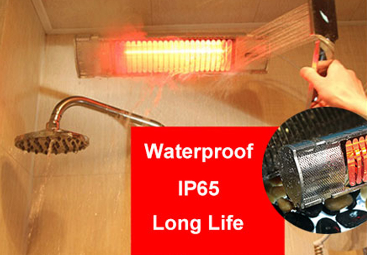 Waterproof and Dustproof Infrared Heater Electric Quartz Heater