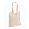 large plain blank white custom cotton fabric canvas shopping tote bag reusable