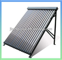 Solar Keymark Heat Pipe Solar Collector 15 Tubes To 24 Tubes
