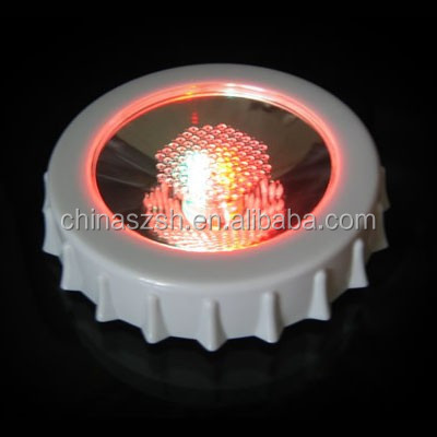 popular LED flashing coaster/Party light up coaster/lip shape LED light coaster