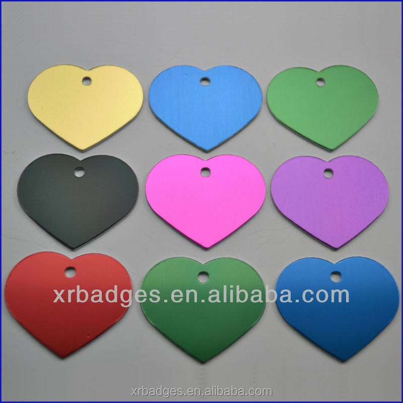 all kinds of oxidation colored dog tag