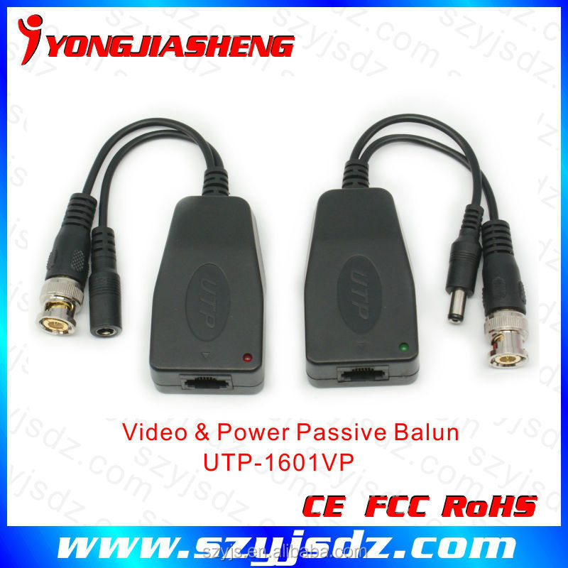 High quality Passive Video Power balu with rj45 balun