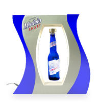 Levitating dispaly for Modelo Light /advertising display stand