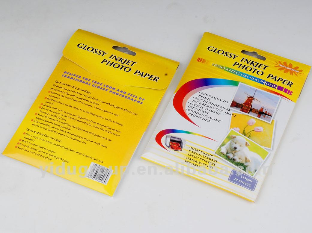 cheap Resin Coated Photo Paper in guangdong