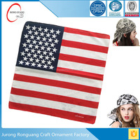 Hotsale american flag bandana made in China
