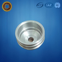 Anodized aluminum aircraft model spare part, CNC Machining turning service hub wheel