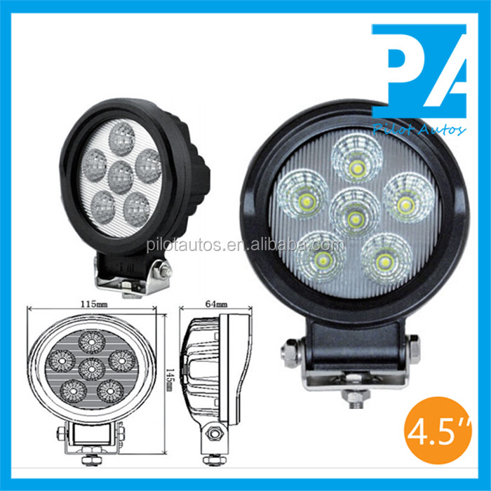 "18W 4.5"" inch Led Work Working Light For ATV SUV off road 4x4 heavy equipments Truck Jeep Motorcycle Boat 0318"