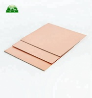 0.254mm thick ptfe copper clad laminate(ccl)sheet with ceramic membrane(F4BM-2-A265)double-sides ptfe ccl material