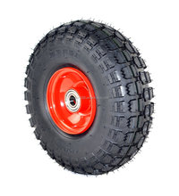 4.10/3.50-4 rubber vacuum tire wheel