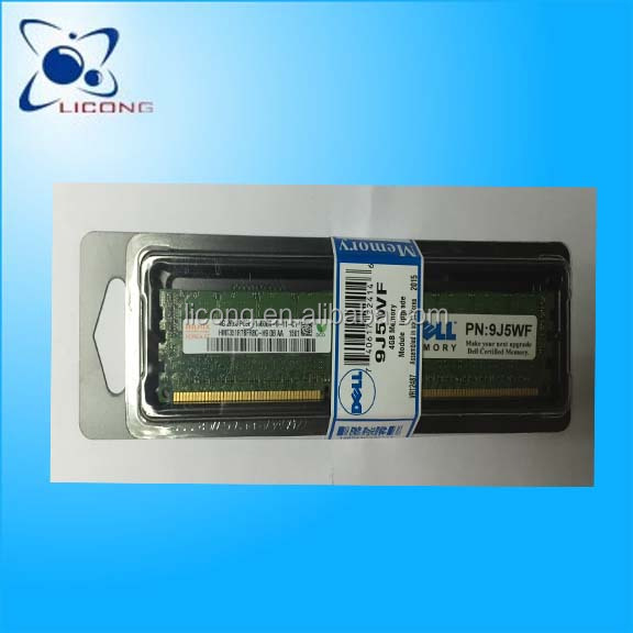 9J5WF 4GB (1X4GB)1333 MHZ PC3-10600 server ram for DELL