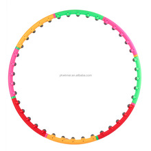 Top Quality Sport Entertainment PVC Magnetic Massage Hula Hoops