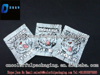free wholesale price herbal incense bags/white tiger ptpourri bag 4g 10g