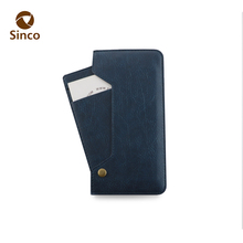 wholesale sublimation 5.5 inch flip stand wallet leather phone case for iphone7 plus