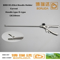 5mm Tungsten steel Reusable curved needle holder