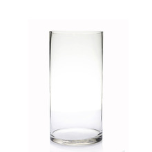 HOT SALE HAND BLOWN CYLINDER GLASS VASE
