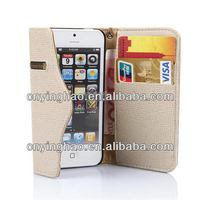 Design most popular for iphone 5 lagging leather pc case