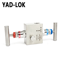 YAD-LOK Factory Supplier Two Way Water Pump Vacuum Valve Manifolds 4""