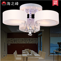 family light with PC cover/modern crystal LED ceiling lamps