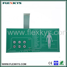 OEM medical and healthy equipment PC poly dome Membrane keyboard