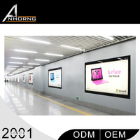 advertising free standing outdoor waterproof hanging photo/pictures acrylic frame led light box