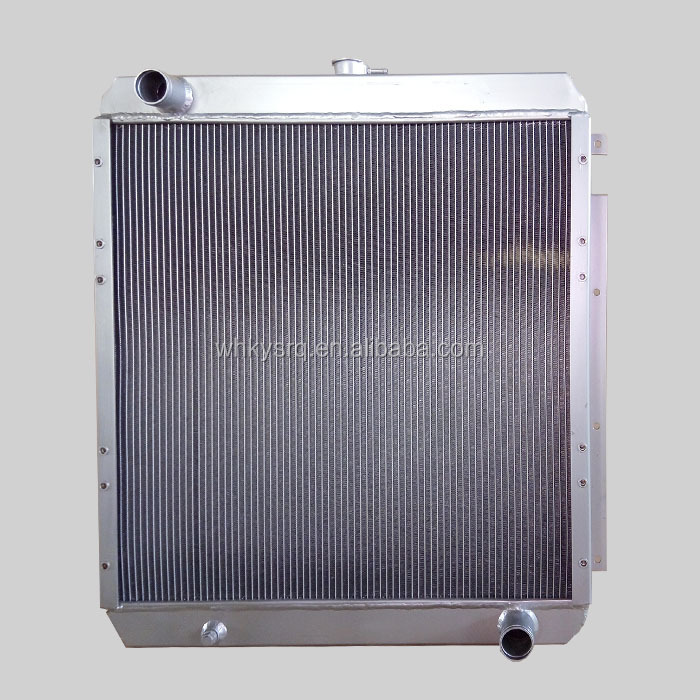 Customized Design Aluminum Intercooler Assy for Cat E320 Radiator