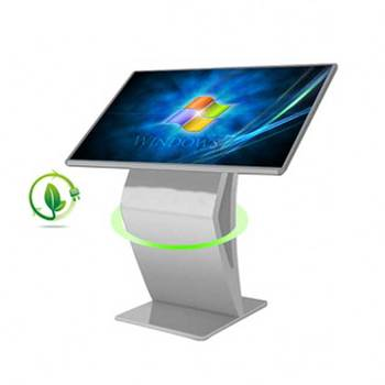 1080P 55 Inch Floor Stand Touchscreen LCD Advertising Kiosk