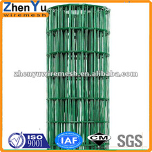 pvc coated finishing gi wire 2x4 welded fence for road