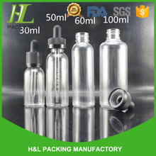 Supplier in the philippines plastic bottle, pet dropper bottle with pipette