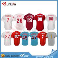 Philadelphia Phillies jersey on stock can mix order baseball jersey less MOQ