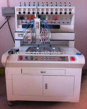2012 hot selling PVC/Silicone trademarks making machine